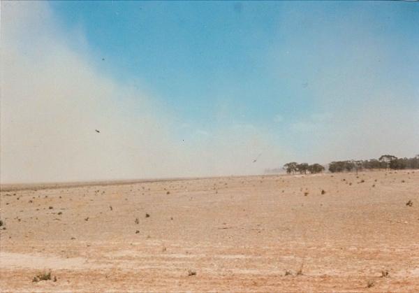 The drought year 1967 near Sedan